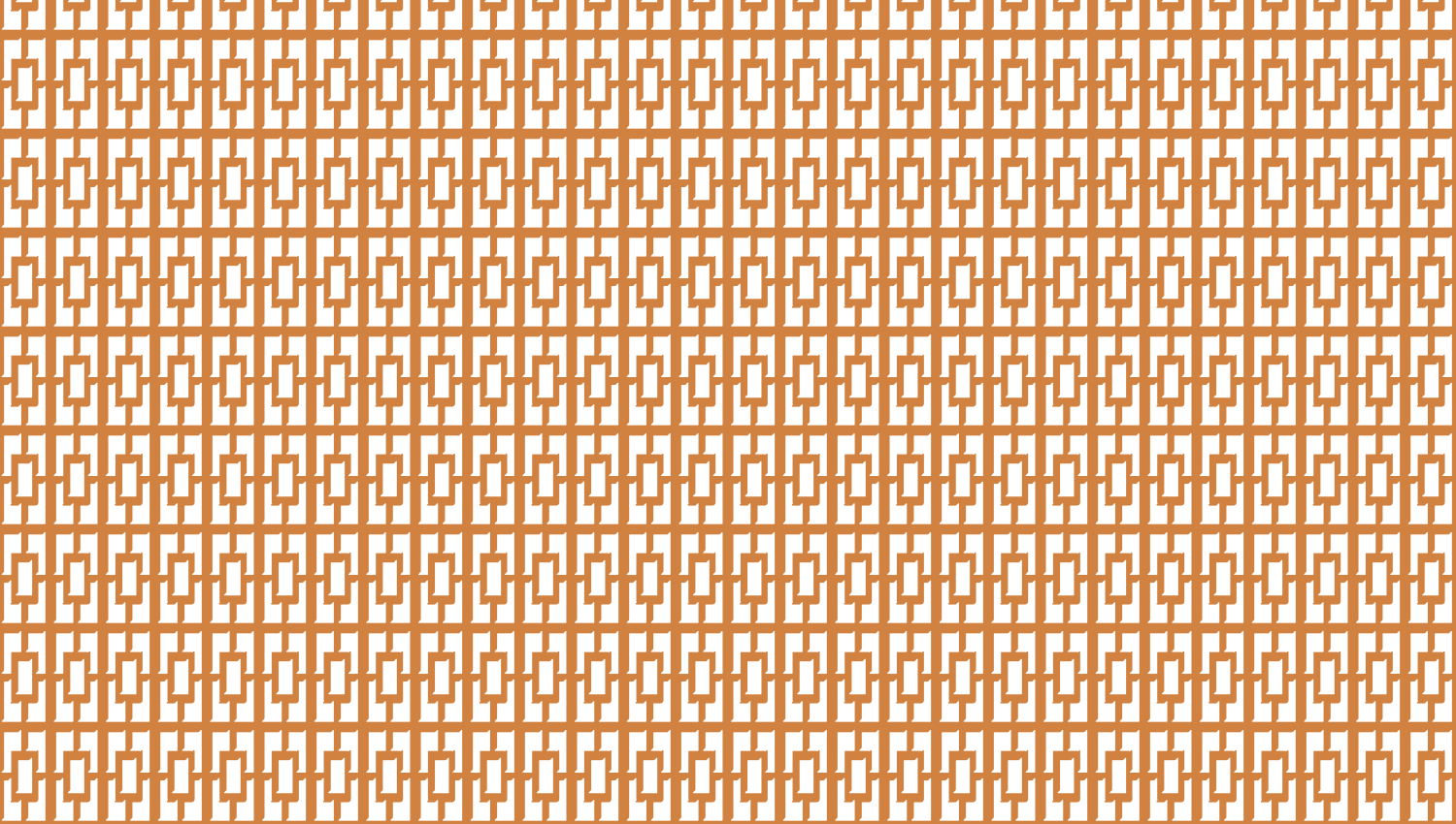 Parasoleil™ Cranbrook© pattern displayed with a ochre color overlay