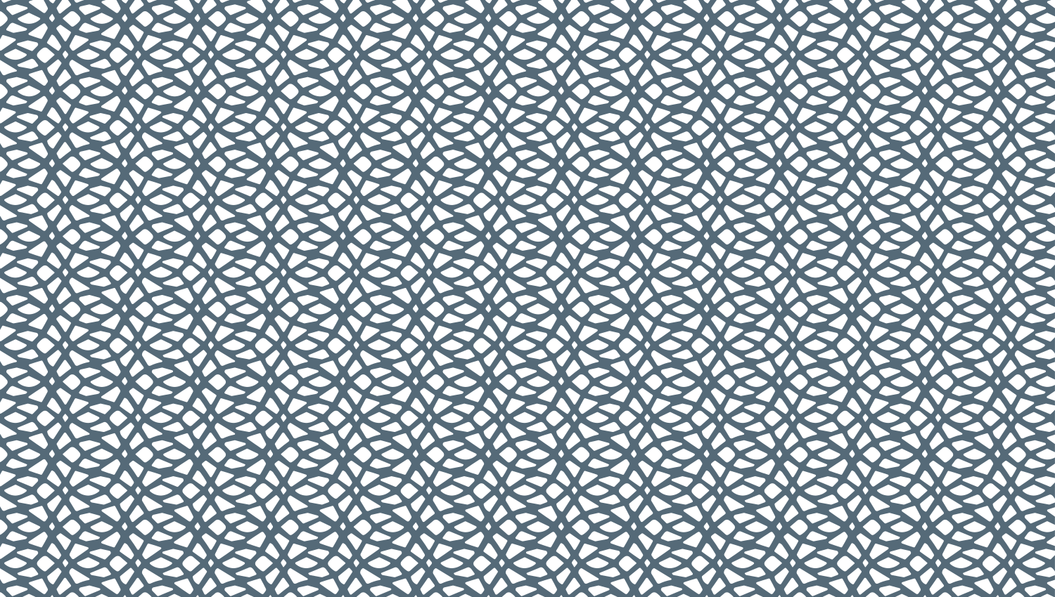 Parasoleil™ Serpentine© pattern displayed with a blue color overlay