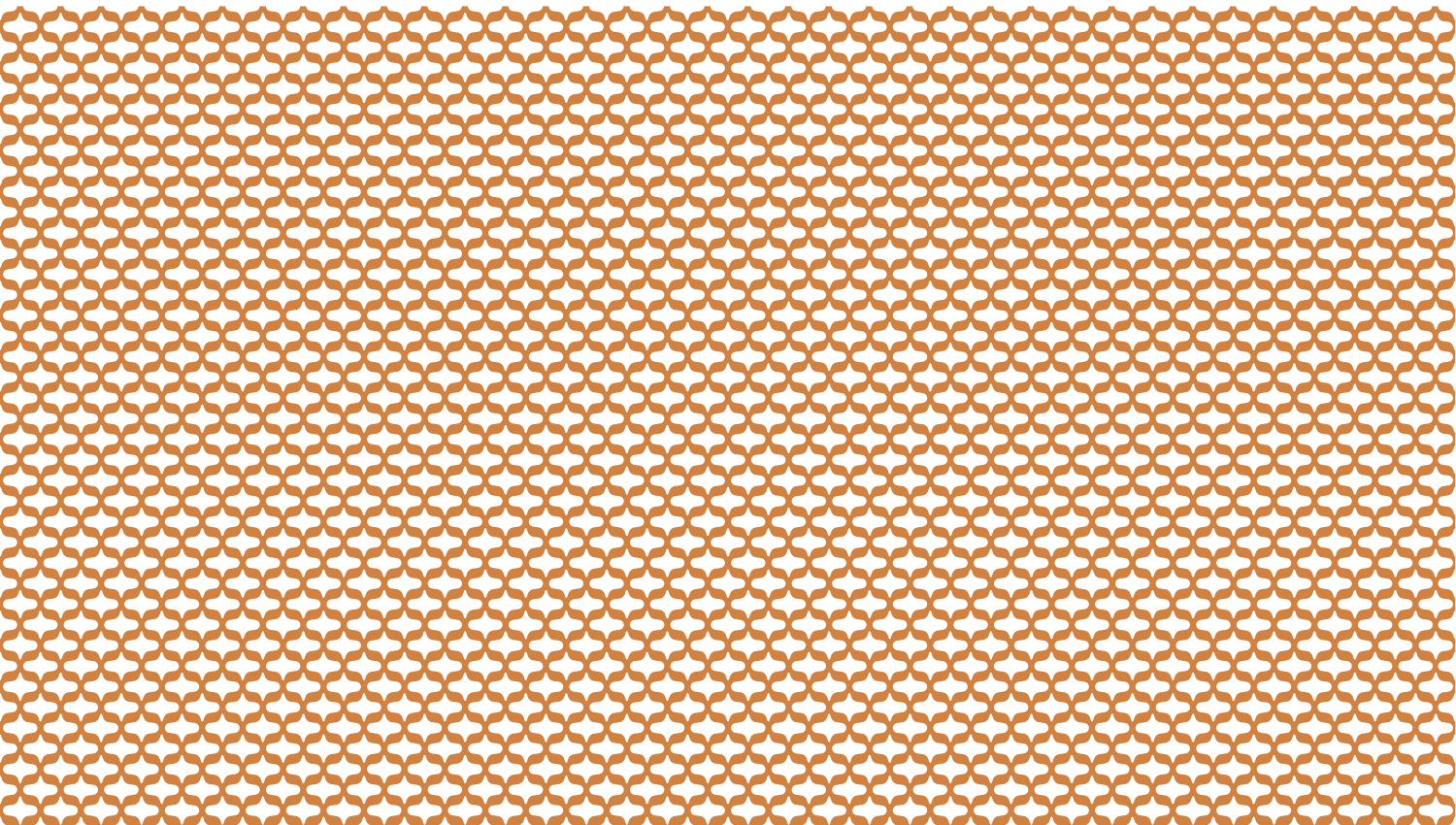 Parasoleil™ Seville© pattern displayed with a ochre color overlay