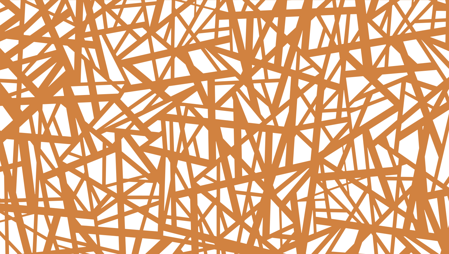 Parasoleil™ Shattered© pattern displayed with a ochre color overlay